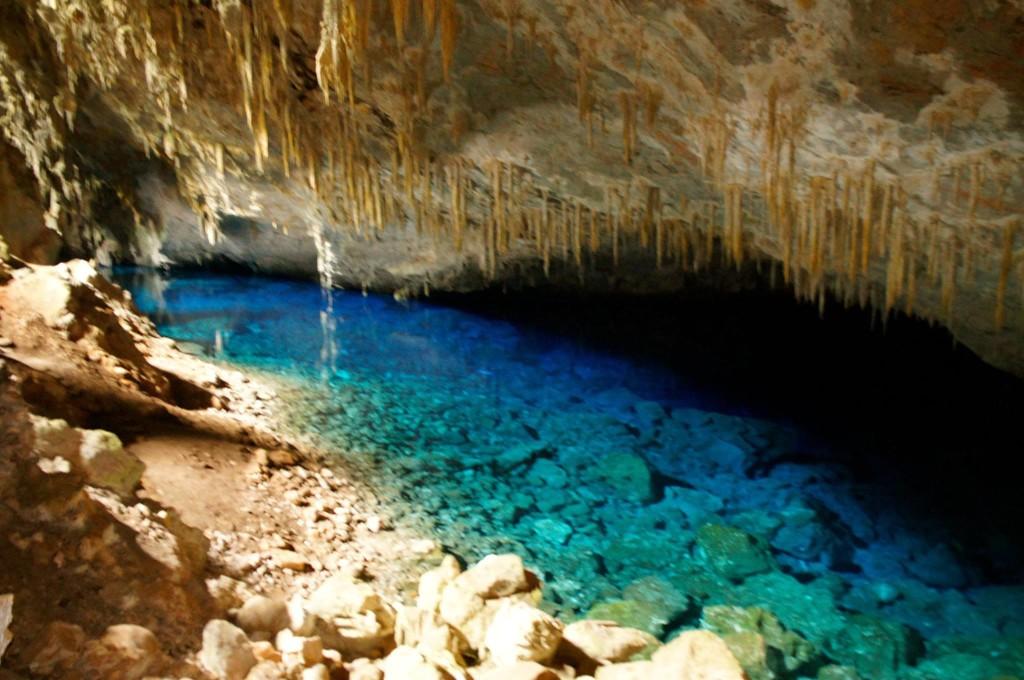 gruta do l azul
